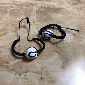 Indianapolis Colts Kukui Nut Bracelet
